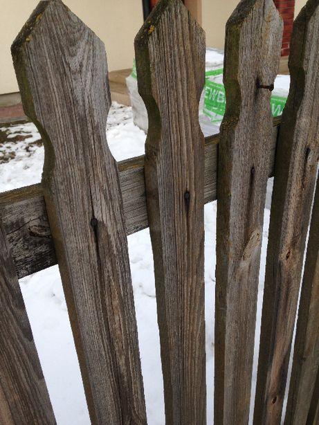 Płot sztachety ogrodzenie