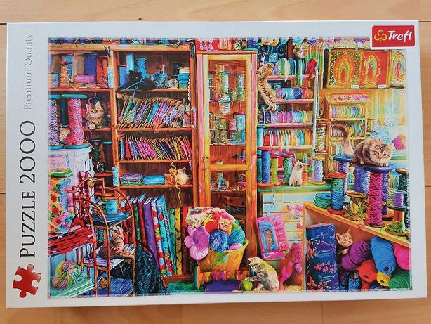 Puzzle Koci Raj (2000)