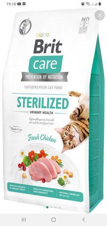 Супер-преміум, сухий корм для стериліхованих котів Brit Care 7кг