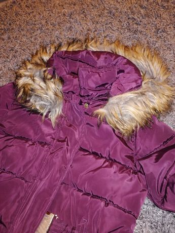Płaszczyk płaszcz kurtka zimowa 9-10 lat