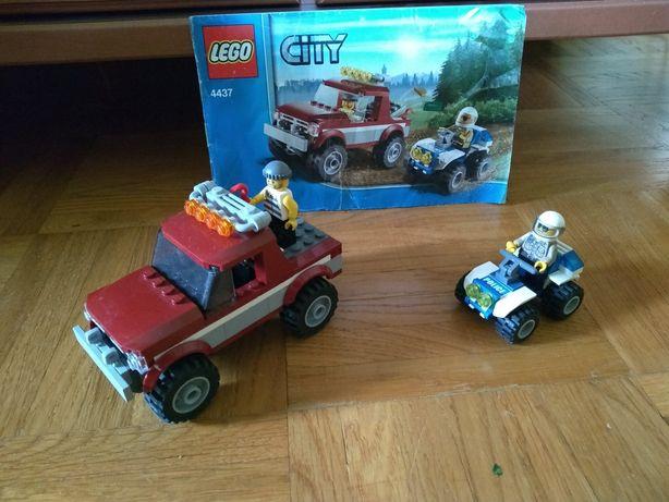 Klocki LEGO pościg policyjny nr 4437