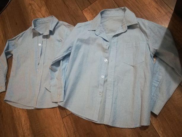Koszula Zara 122/128 dla bliźniaków