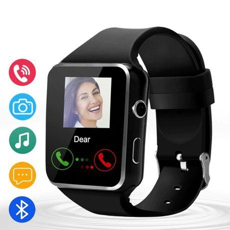 SmartWatch X6 | Relógio inteligente | Smartphone iOS Android Bluetooth
