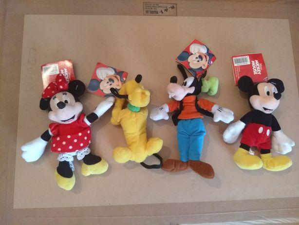 Disney - lote 4 bonecos com marca, vintage