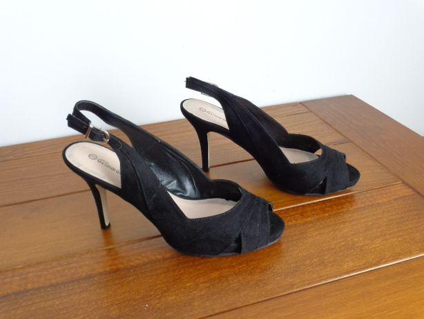 Sandálias altas de Verão