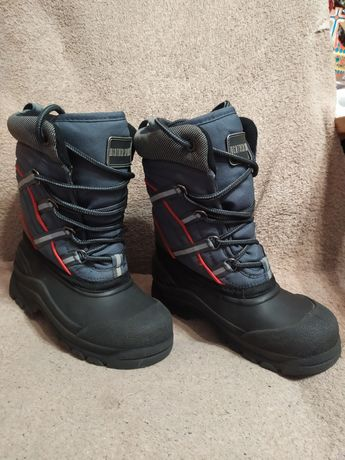Buty śniegowce 22-25 cm dziecięce wodoodporne na śnieg ocieplane