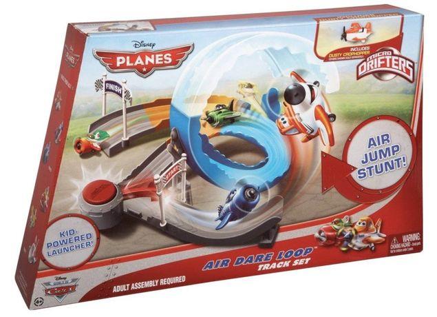 Игровой набор Летачки, мертвая петля, Mattel + 2 самолетика, оригинал