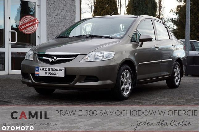 Honda City 1.4 BENZYNA 83KM, Polski Salon, Zadbana, Ekonomiczna, Auto z Gwarancją