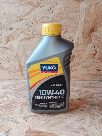 Масло моторное YUKO 10W-40.