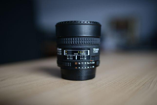 Nikon AF 16mm 2.8D Nikkor Fisheye rybie oko