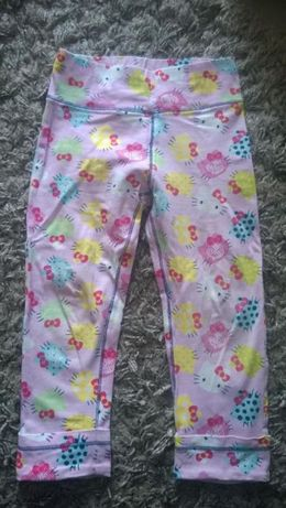 Leginsy getry Hello Kitty rozmiar 104/110