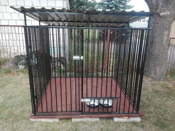 Kojce dla psów 2X2 Klatka Boks KOJEC o wymiarach 2mx2m NA JUŻ