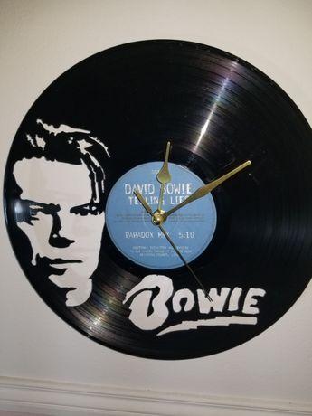 Relógio de Parede em Vinil - David Bowie