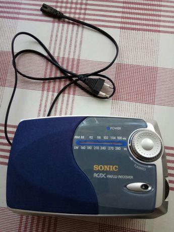 Radio  Sonic AC/DC uszkodzone. Nie rezerwuję.