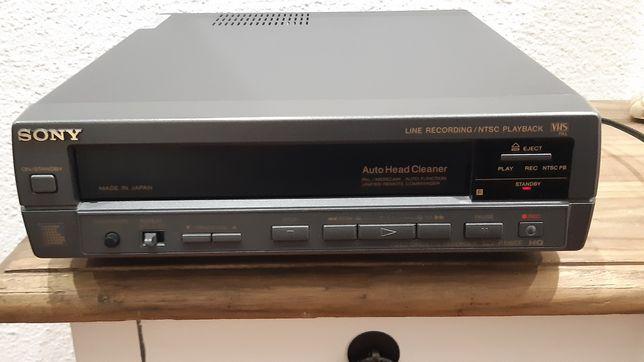 Vídeo leitor VHS Sony vintage