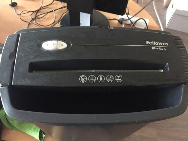 Продам шредер (измельчитель бумаги) Fallowes P-5+