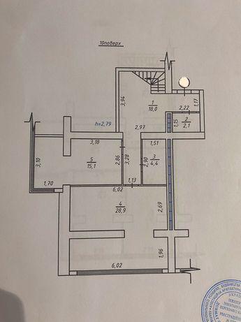 Дворівнева квартира в новобудові 3 спальні. Повноцінні поверхи! vy
