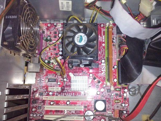 1 conjunto board+processador+coller