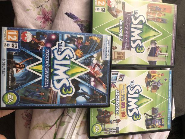 The sims 3 PC dodatek+ dwa akcesoria
