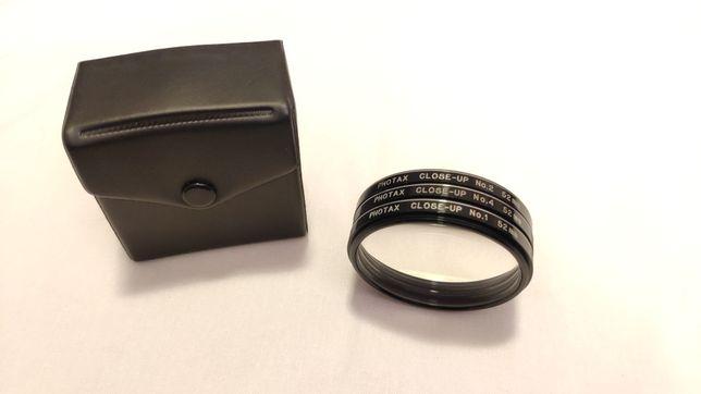 Filtros close up Photax 52mm +1 +2 +4