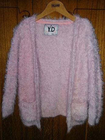 Теплий светр-накидка