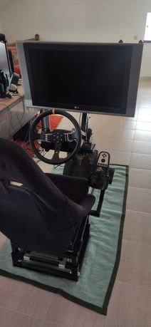 Playseat Completo TV 32''   Logitech G27   PS3