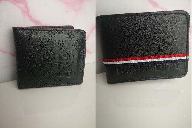 Portfel męski skórzany Louis Vuitton Tommy Hilfiger nowość