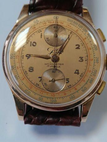 Relógio de ouro de 18 kl