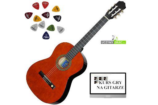 Gitara klasyczna EVER PLAY EV-123 4/4 GRATIS DarmowaWysyłka
