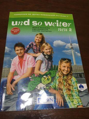 Podręcznik Und so weiter 2, klasa 5