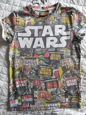 Star Wars 2 koszulki rozm.140