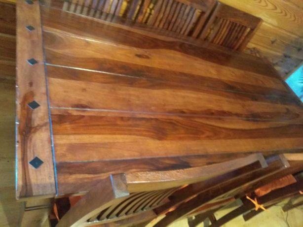 Stół drewniany - palisander