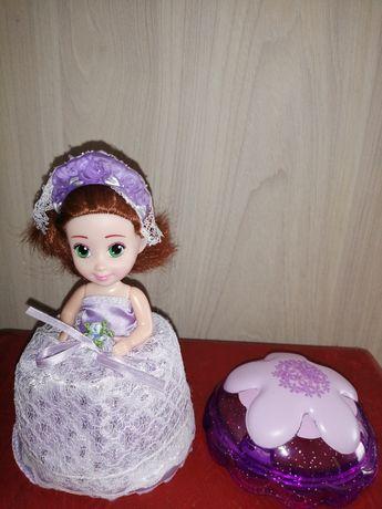 Куклы Кексик 2 шт. большие ароматные новое состояние и подарок заколка