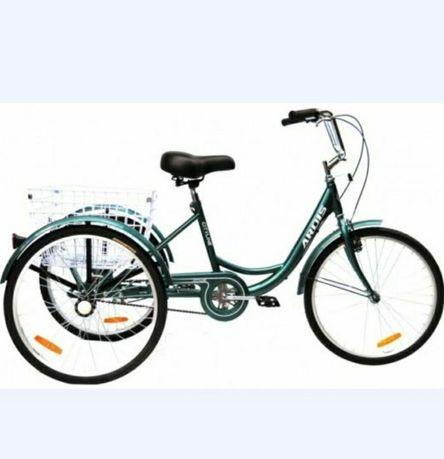 Грузовой трёх колесный велосипед