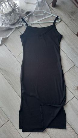 Sukienka prążkowana S