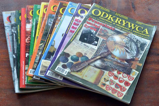 Magazyn ODKRYWCA - rocznik 2004 - kompletny