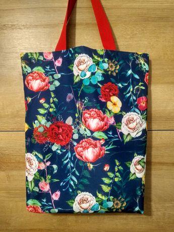 Eko torba w kwiaty
