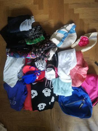 Mega paczka ubrań dla dziewczynki 146 - 164