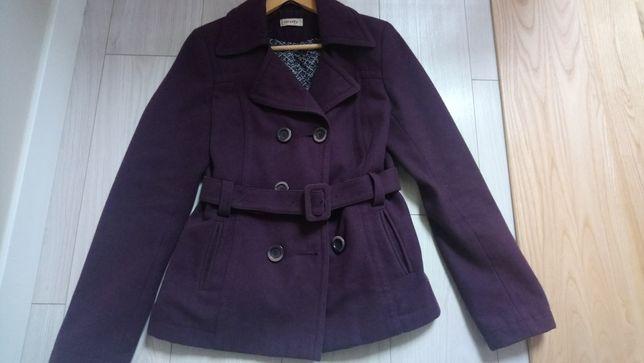 Płaszczyk, płaszcz jesienno-zimowy, flausz, kurtka, Orsay, rozmiar 38