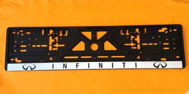 Рамка номера Инфинити Q30 50 60 QX 30 50 60 70 80 EX FX M I JX SX