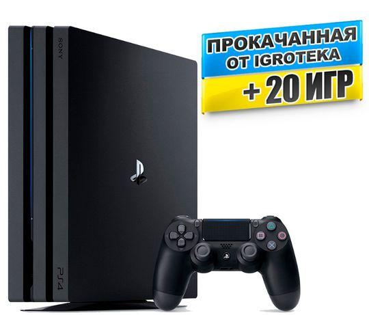 PS4 1Tb PRO новая + 20 игр - ГАРАНТИЯ 18 мес.