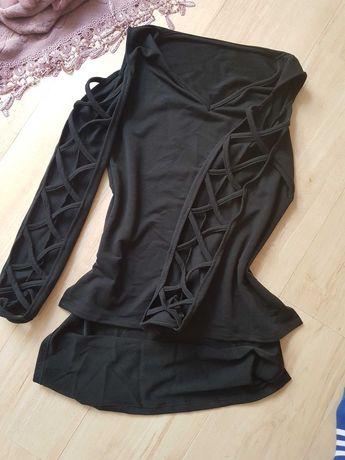 Odkryte ramiona sweterek damski rozmiar 38