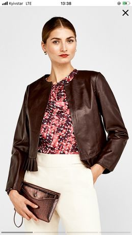 Pedro del Hierro Куртка кожаная, жакет, короткая куртка