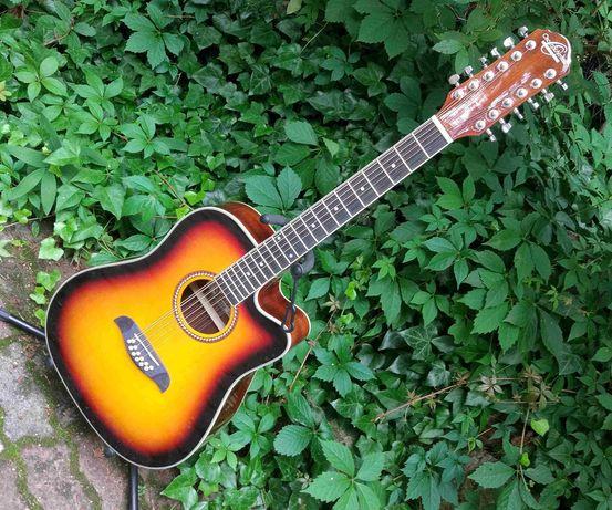 Nowa gitara elektro akustyczna 12 strunowa Oscar Schmidt By Washburn