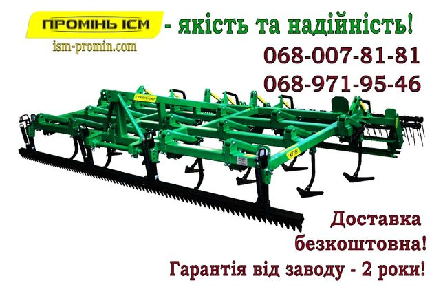 Культиватор передпосівний КН/СТЕП/КПН 3/3,5/4/6/8 м. для МТЗ/ЮМЗ/Т 15