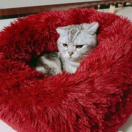 Лежанка 50 см лежак, подстилка, подушка, домик для кота кошки собаки