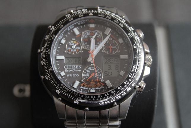 Citizen Promaster Eco-Drive Super Skyhawk JY0020-64E. Gwarancja