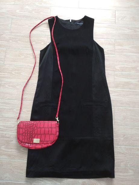Mała czarna sukienka r. 36 S kopertowka elegancka