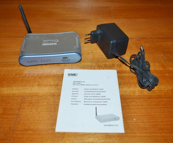 Router Wifi SMC