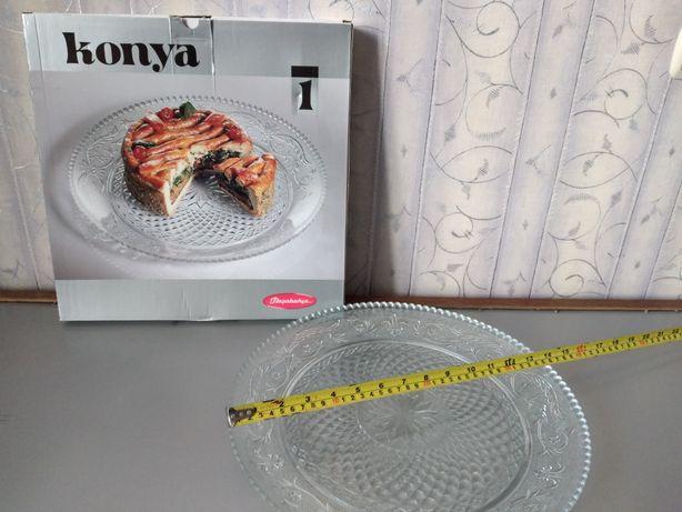 Блюдо столовое стекло